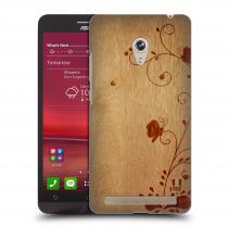 Head Case Designs Asus Zenfone 6 WOODART SWIRL
