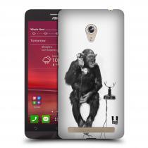 Head Case Designs Asus Zenfone 6 OPIČÁK S TELEFONEM
