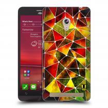 Head Case Designs Asus Zenfone 6 PATTERN GEOMETRIC RASTA