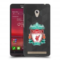 Head Case Designs Asus Zenfone 6 ZNAK LIVERPOOL FC OFFICIAL GEOMETRIC BLACK
