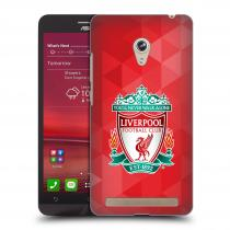 Head Case Designs Asus Zenfone 6 ZNAK LIVERPOOL FC OFFICIAL GEOMETRIC RED