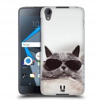Head Case Designs Blackberry DTEK50 KOTĚ S BRÝLEMI