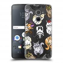 Head Case Designs Blackberry DTEK60 (Argon) Mainská mývalí kočka