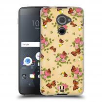 Head Case Designs Blackberry DTEK60 (Argon) Motýlci a růžičky