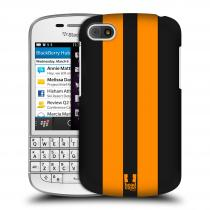 Head Case Designs Blackberry Q10 ŽLUTÉ A ČERNÉ PRUHY