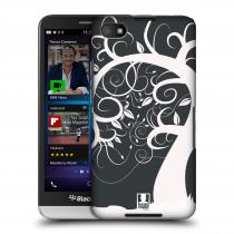 Head Case Designs Blackberry Z30 SPLETITÝ STROM ŠEDÝ