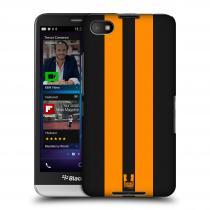 Head Case Designs Blackberry Z30 ŽLUTÉ A ČERNÉ PRUHY