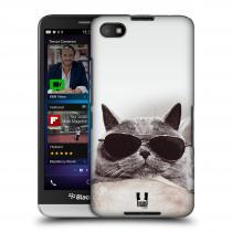 Head Case Designs Blackberry Z30 KOTĚ S BRÝLEMI