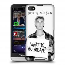 Head Case Designs Blackberry Z30 Justin Bieber Official What do you mean ?