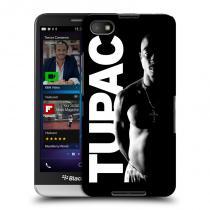 Head Case Designs Blackberry Z30 TUPAC Black and White