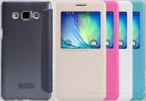 Nillkin Galaxy A5 Sparkle S-View bílé