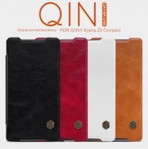 Nillkin Qin Book Sony Xperia Z5 Compact červené