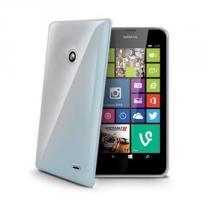 CELLY Gelskin Nokia Lumia 630 transparentní