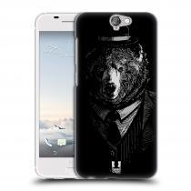 Head Case Designs HTC One A9 MEDVĚD V KVÁDRU