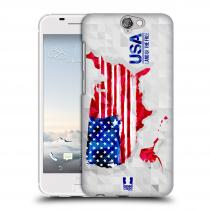 Head Case Designs HTC One A9 GEOMAPA USA
