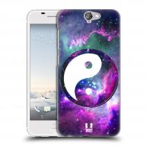 Head Case Designs HTC One A9 Yin a Yang PURPLE
