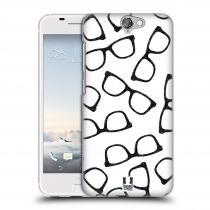 Head Case Designs HTC One A9 HIPSTER BRÝLE