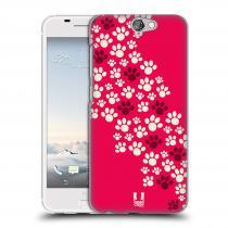 Head Case Designs HTC One A9 TLAPKY RŮŽOVÉ