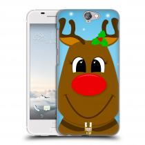 Head Case Designs HTC One A9 VÁNOCE RUDOLF SOB