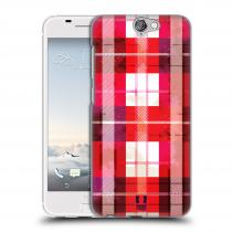 Head Case Designs HTC One A9 FLANEL RED
