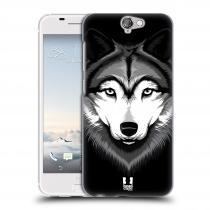 Head Case Designs HTC One A9 ILUSTROVANÝ VLK