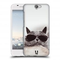 Head Case Designs HTC One A9 KOTĚ S BRÝLEMI
