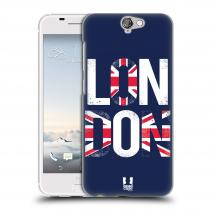 Head Case Designs HTC One A9 LONDON NÁPIS
