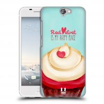 Head Case Designs HTC One A9 CUPCAKE RED VELVET