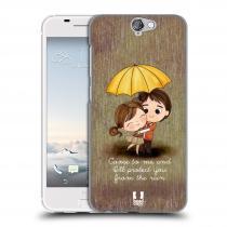 Head Case Designs HTC One A9 Emo Love v Dešti