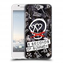 Head Case Designs HTC One A9 5 Seconds of Summer - Skull