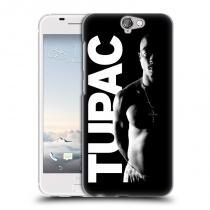 Head Case Designs HTC One A9 TUPAC - Black and White