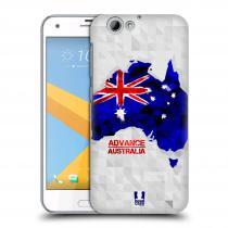 Head Case Designs HTC One A9s - GEOMAPA AUSTRÁLIE