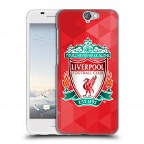 Head Case Designs HTC One A9 ZNAK LIVERPOOL FC OFFICIAL GEOMETRIC RED