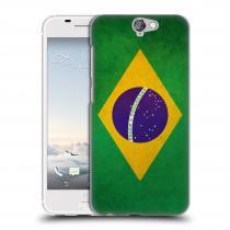 Head Case Designs HTC One A9 VLAJKA BRAZÍLIE