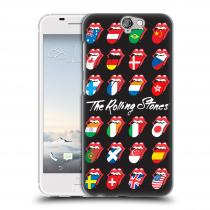 Head Case Designs HTC One A9 The Rolling Stones - Jazyky 24 Zemí