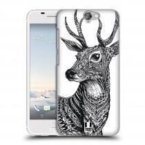 Head Case Designs HTC One A9 Zdobený Jelínek