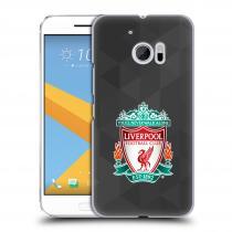 Head Case Designs HTC One 10 - - ZNAK LIVERPOOL FC OFFICIAL GEOMETRIC BLACK