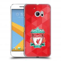 Head Case Designs HTC One 10 - - ZNAK LIVERPOOL FC OFFICIAL GEOMETRIC RED
