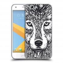 Head Case Designs HTC One A9s - DOODLE TVÁŘ VLK