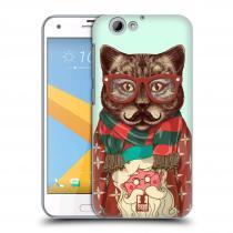 Head Case Designs HTC One A9s - HIPSTR SVETR KOČKA