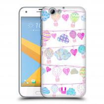 Head Case Designs HTC One A9s - Balóny a srdíčka