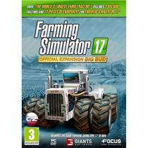 Farming Simulator 17 oficiální rozšíření BIG BUD (PC)