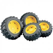 Bruder - Dvojitá kola - žlutá