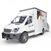 Bruder - MERCEDES BENZ Sprinter-přepravník na koně