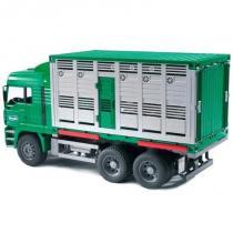 Bruder - Nákladní auto MAN - kontejner na zvířata