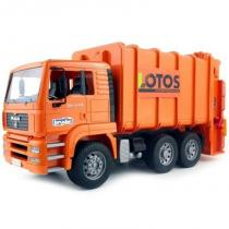 Bruder - Nákladní auto MAN - LOTOS - popelář