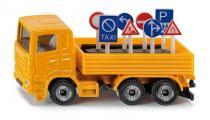 SIKU Blister - Nákladní vozidlo s dopravními