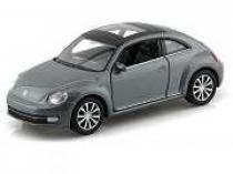 Welly - Volkswagen The Beetle 1:34 šedý