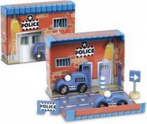 Zábavná Vilac - Box s auty - Policie