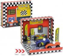 Zábavná Vilac - Box s auty - Závodní dráha